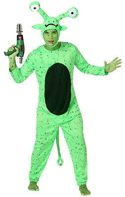 Costume Man Alien Green XL Suit Alien Funny NEW cheap - Cheap Alien Costumes