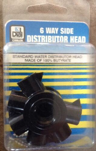 Dial Mfg 6 Way Side Water Distributor Head Evaporative Coole