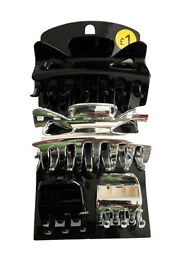 joblot wholesale clearance stock 250x set of 4 Jaw Grip Hair Clips Clamps