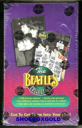 THE BEATLES,  The Beatles Collection Factory-Sealed Trading Card BOX