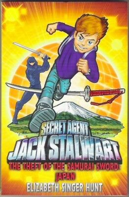 JACK STALWART 11: THE THEFT OF THE SAMURAI SWORD JAPAN Elizth Hunt New paperback