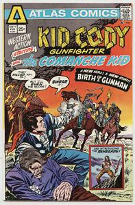 Western Action #1 Atlas Comics (1975) Bronze Age Comicbook