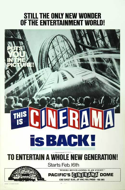 THIS IS CINERAMA Movie POSTER 27x40 B