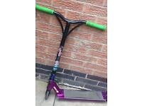 For sale is a Custom stunt scooter £40 collection is from ilkeston