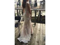 STUNNING SHERRIE HILL WEDDING DRESS