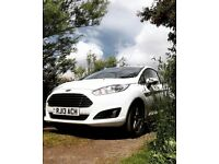 2013 Ford Fiesta ecoboost, White