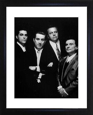 Goodfellas Robert de Niro and Ray Liotta Framed Photo CP0188