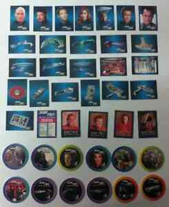 STAR TREK FRITOS-LAYS 1993 CARD COLLECTION & STAR TREK POGS West Island Greater Montréal image 1