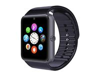Smart Watch TechCorp Bluetooth Smart Wrist Watch Phone for Android Samsung - Black