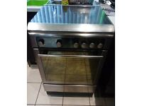 Hotpoint freestanding gas cooker 60cm stainless steel only 3/4 month old
