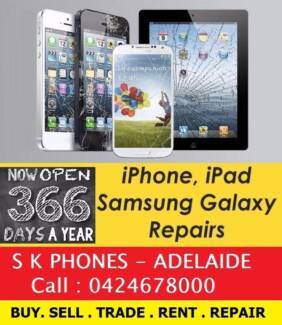 Glass Repairs iphone 6 $59, iphone 7 $129. Cheapest in Adelaide !