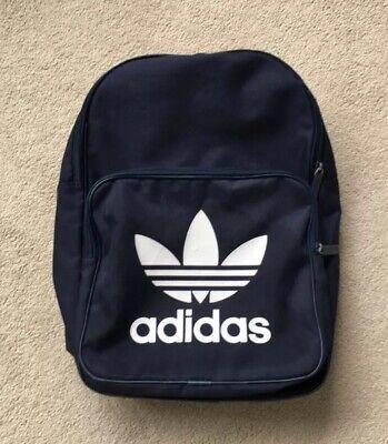 Navy ADIDAS Backpack Rucksack Bag