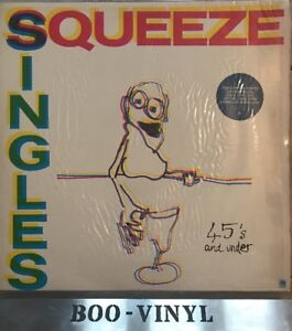 Squeeze Singles 45's And Under AMLH 68552 UK Vinyl LP Album A1-B1 Ex Con