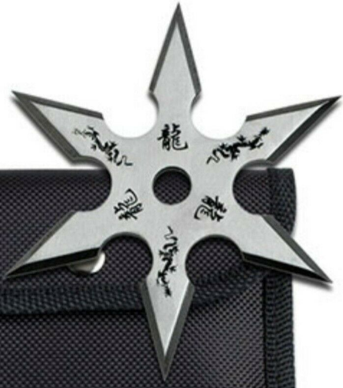 Ninja Training Throwing Star Practice Dense Foam -  w/pouch New!!!!!