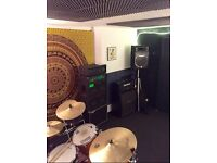 Band rehearsal studio share available in Bristol