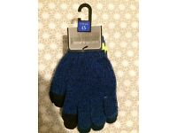 Touchscreen gloves age 7-10 (2 pairs)