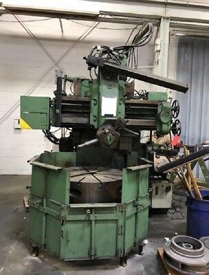 Webster Bennett Em 42 3 Jaw Chuck 30 Hp Vertical Turret Lathe 80 X 120