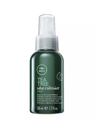 Paul Mitchell Tea Tree Wave Refresher Spray 1.7 fl oz Travel (Tea Refresher)