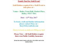 Family Fun Event Stall Event!
