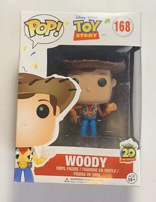 Funko Pop! Toy Story Woody Figure Disney Pixar Movies 168