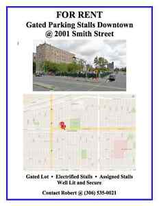 Gated Parking Stalls For Rent- 2001 Smith Street