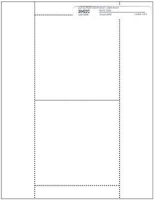 =MATTE FINISH= Jewel Case =Front Booklet 4-Panel= INSERTS 100-Pak (100 sheets)
