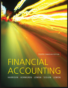 Financial Accounting: Fourth Canadian Edition