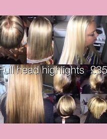 Hairdressing highlight offer