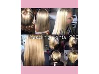 Hairdressing highlight offer