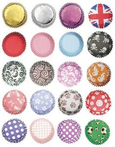 Large-Range-of-CUPCAKE-CASES-CAKE-BAKING-PARTY-Colours-Patterns