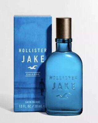 HOLLISTER By Abercrombie * JAKE * COLOGNE 1.0 oz / 30 ml SPRAY MEN New