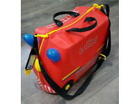 Trunki Ride On Fire Truck Red