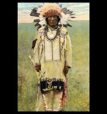 Iron Hail,Dewey Beard PHOTO, Lakota Indian SURVIVED WOUNDED KNEE Little Bighorn