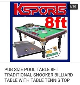 7 foot pool table with accessories Perth Perth City Area Preview