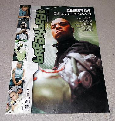 "Hip-Hop Graffiti Magazin ""BREAKBEAT"" #23 2002 Rap Urban Fashion Drum & Bass"