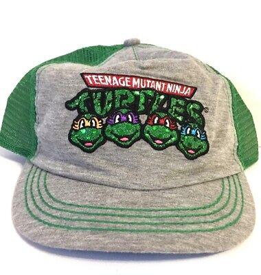 NEW Nickelodeon TMNT Teenage Mutant Ninja Turtle Ball Cap Trucker Hat OSFM