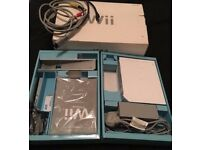 Nintendo Wii Console and leads boxed (no controllers)