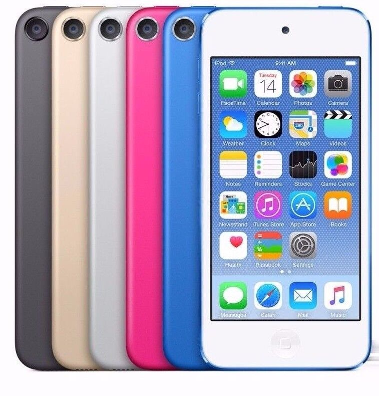 Ipod Touch - Apple iPod Touch 6th 16GB 32GB 64GB 128GB MP3 Player Blue Pink Gray Gold Red