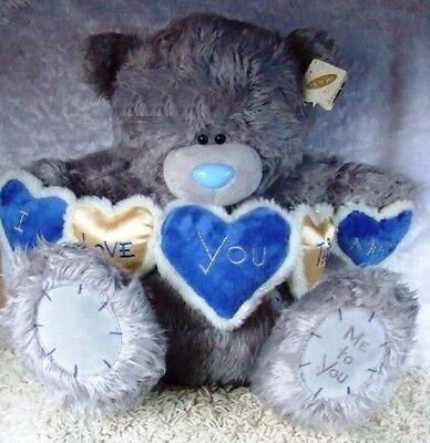 Tatty Teddy the grey nosed bear