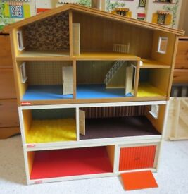 Vintage Lundby Dolls House with Extensions