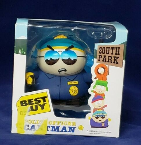NEW BEST BUY POLICE OFFICER SOUTH PARK: CARTMAN TOY TOYS FIGURE