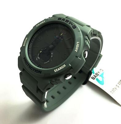 Casio Baby-G BGA-260 Digital Analog Green Sports Shock Watch BGA260-3A
