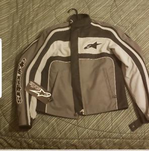 ladies motorcycle jacket new sizr sm