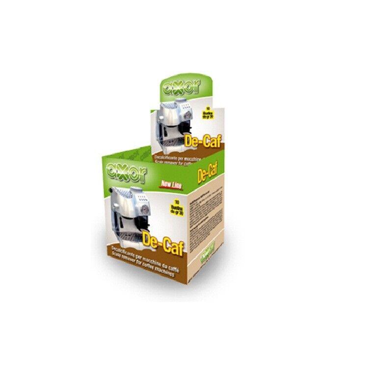 DECALCIFICANTE AXOR DE-CAF PER CAFFETTIERA / MACCHINA CAFFE 10 BUSTINE DA 30gr
