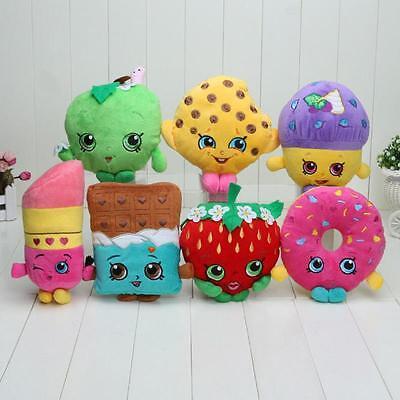 Doughnut Hobbies Muffin  Chocolate Mini New Shopkins plush toy Stuffed Lipsticks