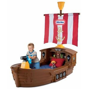 Little Tikes Pirate Ship Toddlers Bed