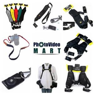 Shoulder straps :Quick Rapid Single (for 1 camera )  /Double Dual Shoulder Sling Belt Strap (For 2 Cameras)