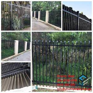 Spear Top Security Fence Panel / Posts For Sale, From $86 Wetherill Park Fairfield Area Preview
