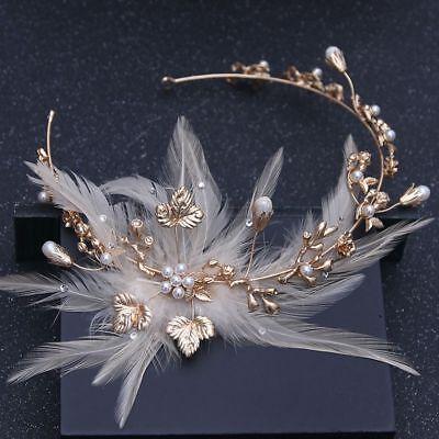 Tiara Cristal Estrás Diadema Corona Concursos de Belleza Novia Boda Pearl Pelo