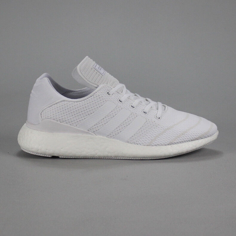 b6280d72 Details about Adidas Busenitz Pure Boost Skate Trainers Shoes in White UK  Size 7,8,9,10